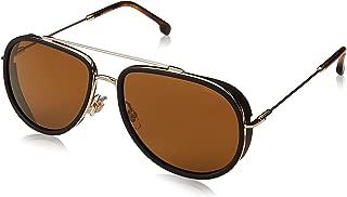 CARRERA Men's Sunglasses, Aviator, 166/S - Gold/Brown