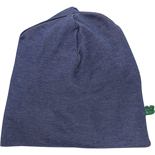 Freds World by Green Cotton Denim Beanie, Gorro Unisex Adulto, Azul (Denim 019402601) XXX-Large