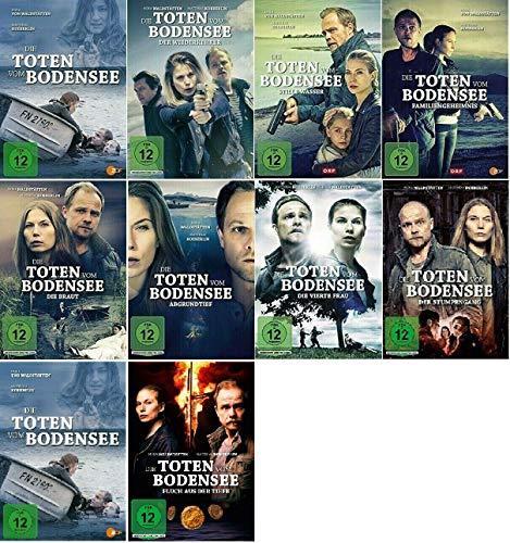 Die Toten vom Bodensee - 1-10 DVD Set