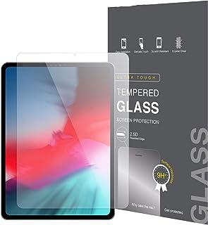 واقي شاشة من الزجاج المقسى لهاتف ابل ايباد برو 11 انش (2020)، اقوى بثلاثة اضعاف (مقاوم للخدش)