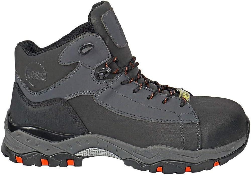 HOSS Chaser SD Men's Composite Toe Static Dissipative Non-metallic Work Hiker