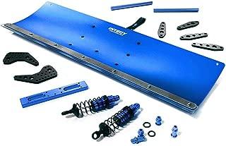 Integy RC Model Hop-ups C28556BLUE Alloy Machined 400mm Snowplow Kit for Traxxas TRX-4