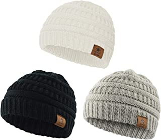 Zando Infant Toddler Soft Baby Hat Cute Lovely Kids Warm Cotton Comfort Knit Boys Beanie Skull Caps Hat Fall Winter