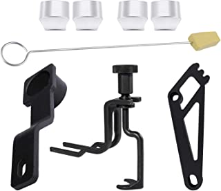 Sunluway Cam Phaser Locking Tool, Valve Spring Compressor Tool, Timing Chain Locking Wedge Tool and Crankshaft Positioning Wrench and Cam Phaser Lock Out Kit for Ford 4.6L/5.4L 3V Engines