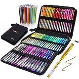 Best Gel Pens For Adult Coloring Books - Gel Pens for Adult Coloring Books, 121 Pack Review