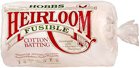Hobbs Batting Heirloom Premium Fusible Cotton Blend 45in x 60in