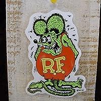 Rat Fink デカール S (RD002 :グリーン)