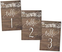 Amazon Com Wedding Table Number Frames