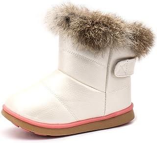 [リーダー] スノーブーツ キッズ ベビー ブーツ スニーカー 女の子 雪遊び 軽量 防寒 脱ぎ履き簡単