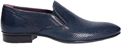 Calzature Ndlspc1663 Zapatos Hombre 9210b Mocasines Blau Mirage Cuero wv8ym0ONn
