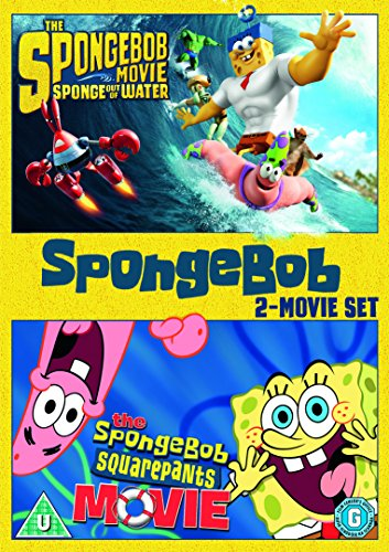 SpongeBob SquarePants: 2-Movie Collection [DVD] [2016] UK-Import (Region 2), Sprache-Englisch.