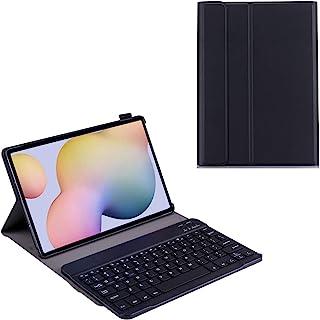 غطاء لوحة مفاتيح Samsung Galaxy Tab S7 Plus [12.4 بوصة] غطاء جلد Galaxy Tab S7 Plus، جراب فوليو مع لوحة مفاتيح بلوتوث بلاس...