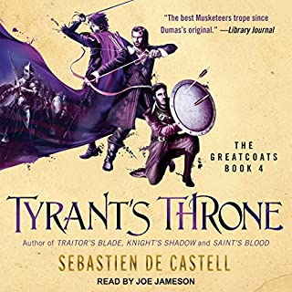 Tyrant's Throne audiobook cover art