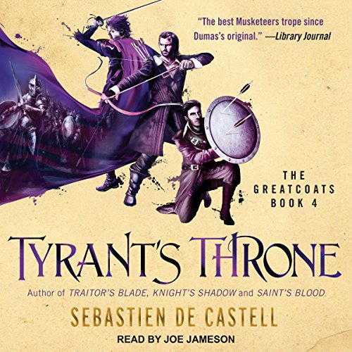 Tyrant's Throne Audiobook By Sebastien de Castell cover art