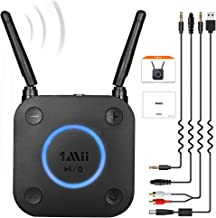 [Upgraded] 1Mii B06Pro Long Range Bluetooth Receiver, HiFi Wireless Audio Adapter, Bluetooth 5.0 Receiver with 3D Surround...