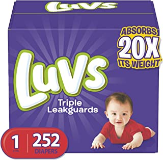 luvs ultra leakguards diapers size 2 108 count