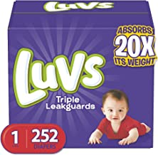 luvs diapers size 1 116 count