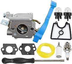 Powtol Mckin C1Q-W37 545081811 Carburetor + 545112101 Air Filter fits Husqvarna 125B..