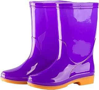 Carrymee Mountain Warehouse Bottes de Pluie Splash,Rembourrage en EVA,antidérapantes,Imperméables,pour Festivals, Jardin, ...