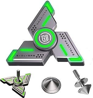 faimocas Fidget Spinners ، هدايا Fidget Spinner للبالغين والأطفال ، لعبة تخفيف التوتر والقلق ADHD ، معادن فائقة التحمل ومض...