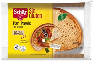Dr. Schar - Pan payés de trigo sarraceno SIN GLUTEN  - 240