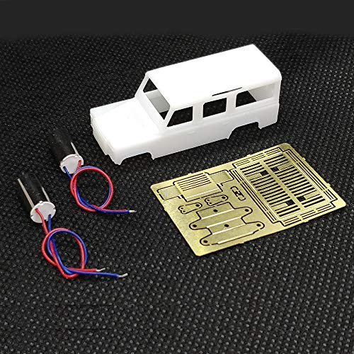 BliliDIY Ds87A01 Kit De Bricolaje para Das87 1/87 4Wd Land Rover Defender RC Car Parts