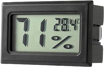 Losenlli Profesional Mini Digital LCD Termómetro Higrómetro Humedad Medidor de temperatura Interior Pantalla LCD Digital Sensor