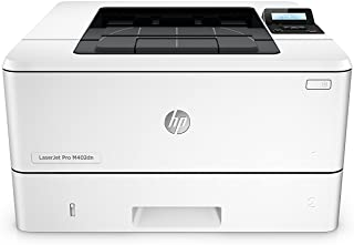 HP LaserJet Pro M402dn Laser Printer with Built-in Ethernet & Double-Sided Printing, Amazon Dash replenishment ready (C5F9...