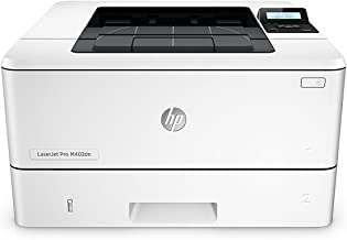 HP LaserJet Pro M402dn Laser Printer with Built-in Ethernet & Double-Sided Printing, Amazon Dash Replenishment ready (C5F94A)