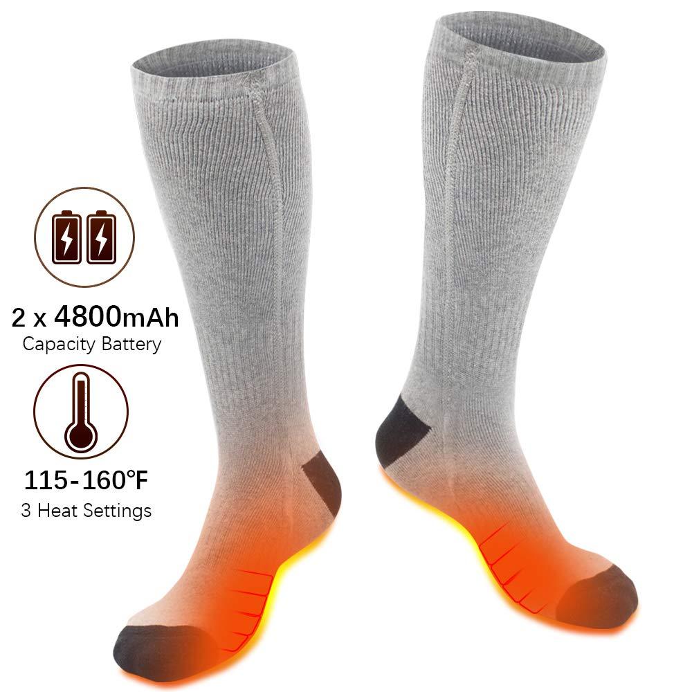 XBUTY Heated Socks Men Women