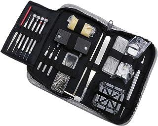 Generic 255pcs Montre Kit Réparation Professionnel Set Outils pour Montre avec Sac de Rangement