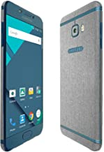 Skinomi Brushed Aluminum Full Body Skin Compatible with Samsung Galaxy C5 Pro (Full Coverage) TechSkin with Anti-Bubble Cl...