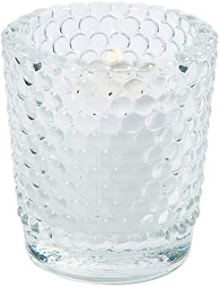 Fun Express - Clear Hobnail Glass Votives (dz) for Wedding - Home Decor - Candles and Candle Accessories - Candle Holders & Accessories - Wedding - 12 Pieces