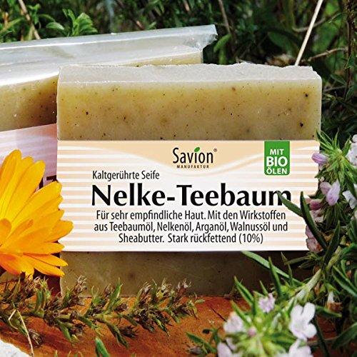 Savion Nelke-Teebaum Körperseife für empfindliche Haut 80g