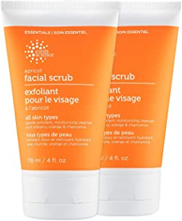 EARTH SCIENCE: Apricot Gentle Face Scrub (2pk, 4oz)