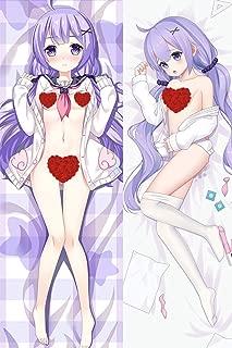 HJML Azur Lane HMS Unicorn Anime Body Pillow Case (15.7×47.2in) Hug Pillowcover Long Hugging Pillowcase Manga Soft Plush Cushion Cover