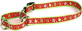 Yellow Dog Design Martingale Slip Collar, Christmas Collection