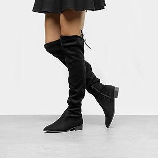 Bota Over The Knee Drezzup Amarração Feminina