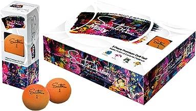 Saintnine Misty Golf Balls 2019 1 Dozen Orange
