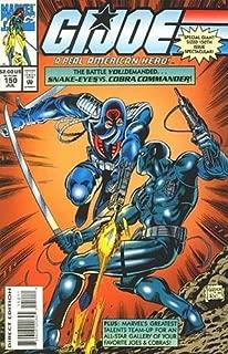 G.I. Joe A Real American Hero - Comic # 150