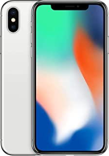 Apple iPhone X With FaceTime, 256 GB, 4G LTE - Silver