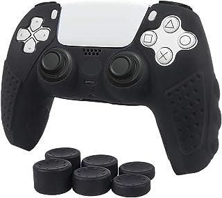 PS5 Dualsense Controller SkinCase Funda protectora de silicona antideslizante para Playstation 5 Controlador PS5 Gamepa...