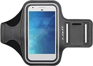 J&D Armband Compatible for Google Pixel 4 XL/Pixel 2 XL 2017/ZTE Axon 10 Pro/Nokia 7.2/Nokia 3 V Armband, Sports Armband w/Key Holder Slot, Earphone Connection while Running Pixel 4 XL Running Armband