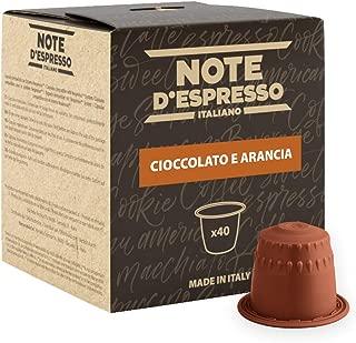 Note D'Espresso Cioccolata all'arancia, Bevanda in capsule, 7 g x 40