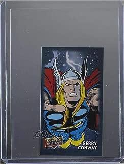 Gerry Conway (Trading Card) 2017 Upper Deck Thor: Ragnarok - Mini Comics Creator Autographs #CCA11