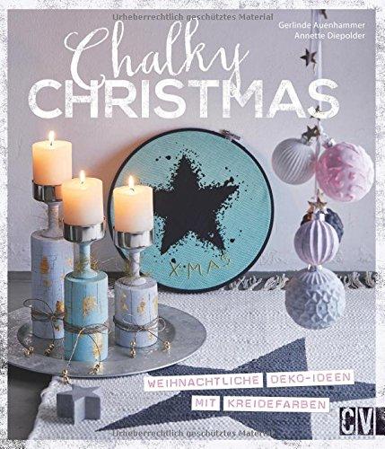 Chalky Christmas: Weihnachtliche Deko-Ideen mit Kreidefarben