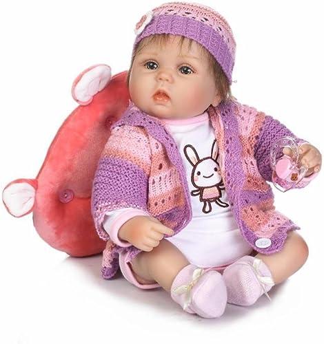 QXMEI Reborn Neugeborenes Baby Realike Puppe Handgemachte Lebensechte Silikon