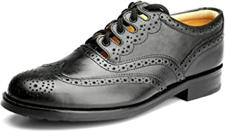 AE Struthers - Thistle Prudent Piper Drummer Cemented All Terrain Sole Ghillie Brogue - Comfortable Durable Economical