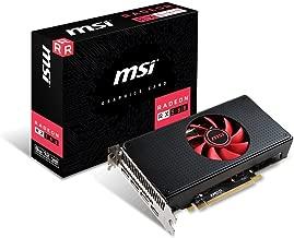 MSI Gaming Radeon RX 580 256-bit 8GB GDRR5 DirectX 12 VR Ready CFX Graphics Card (RX 580 8G V1) (Renewed)