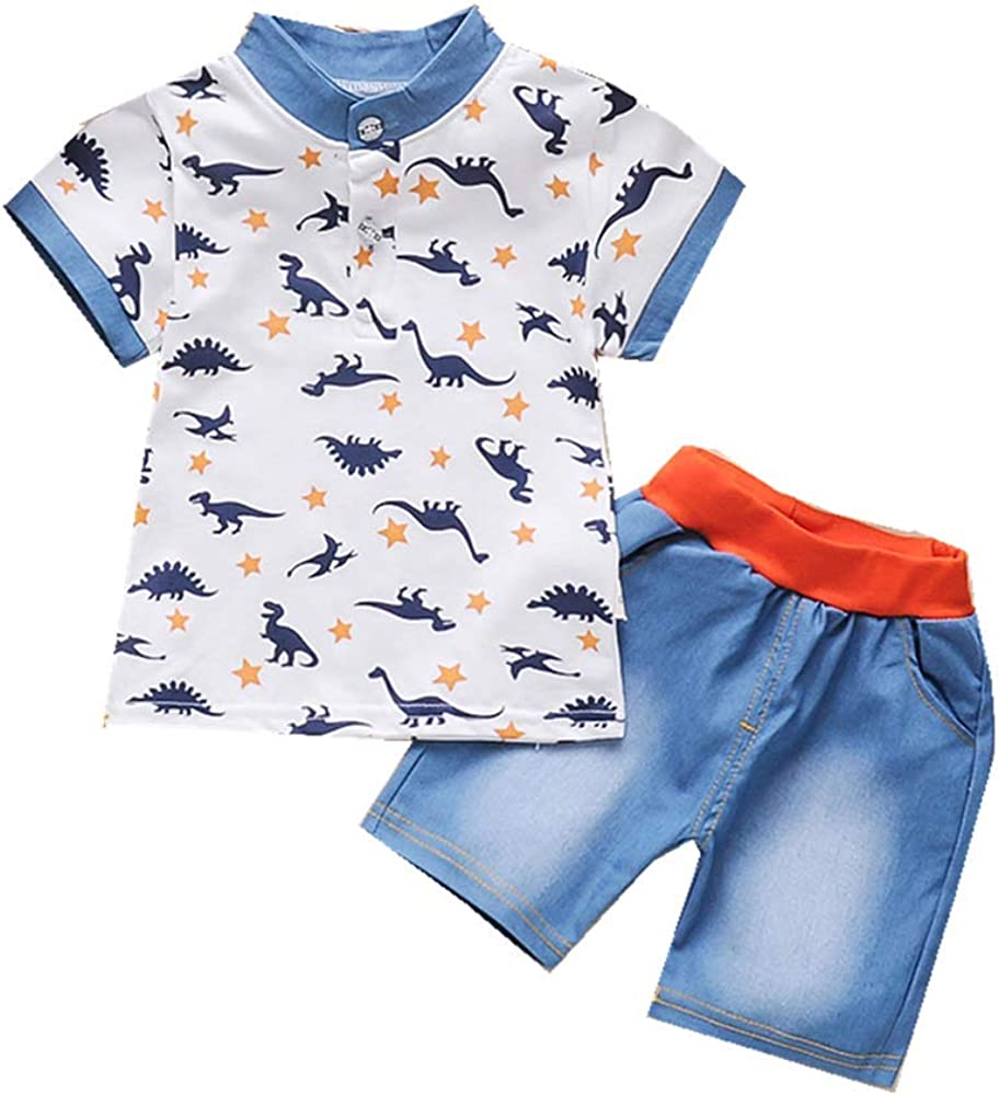 Summer Clothes Max 42% OFF Newborn Baby Outfit sale Shirts Short Sets for Boys Sl